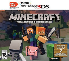Minecraft New Nintendo 3DS Edition - New Nintendo 3DS