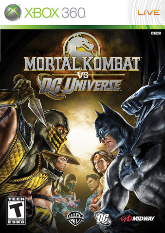 Mortal Kombat vs DC Universe - Pre-Owned Xbox 360