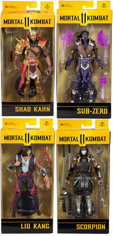 Mortal Kombat 7-Inch Scale Action Figures Wave 5
