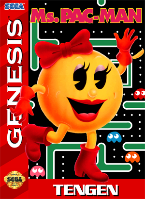 Ms. Pac-Man - Genesis