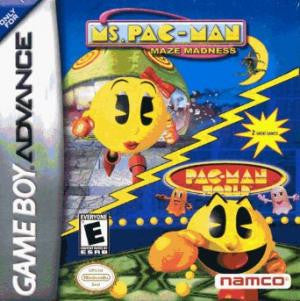 Ms. Pac-Man Maze Madness - Pac-Man World - Gameboy Advance