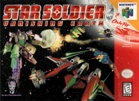 Star Soldier: Vanishing Earth - N64