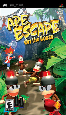 Ape Escape: On the Loose - PSP
