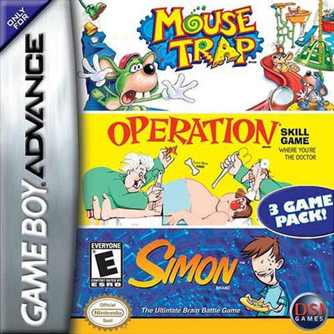 Operation/Mousetrap/Simon - Gameboy Advance