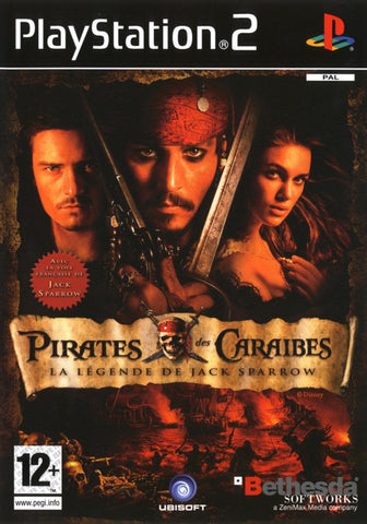 Pirates of the Caribbean: Legend of Jack Sparrow - Playstation 2