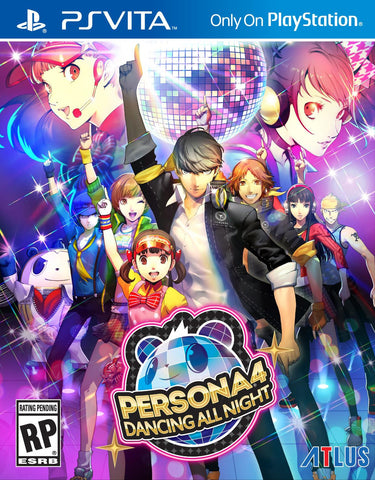 Persona Dancing All Night - Pre-Owned Vita