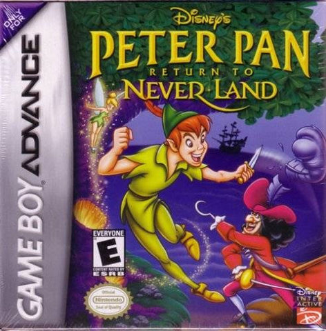 Peter Pan Return to Neverland - Gameboy Advance