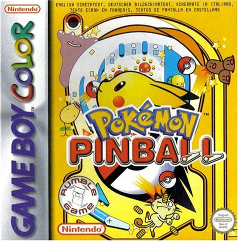 Pokemon Pinball - Gameboy Color