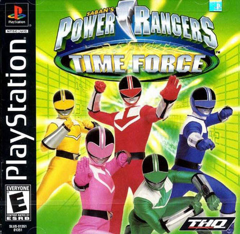 Power Rangers Time Force - Playstation