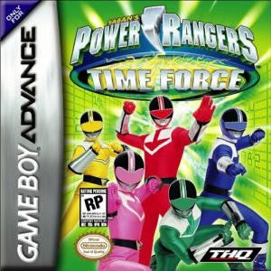 Power Rangers Time Force - Gameboy Advance