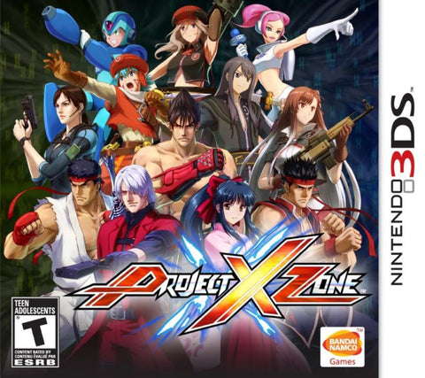Project X Zone - Pre-Owned 3DS