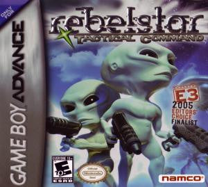 Rebelstar Tactical Command - Gameboy Advance