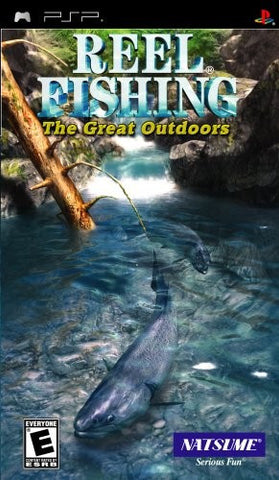 Reel Fishing: The Great Outdoors - PSP