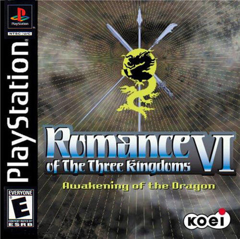 Romance of the Three Kingdoms VI Awakening of the Dragon - Playstation