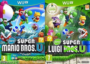 New Super Mario Bros U + New Super Luigi U - Pre-Owned Wii U