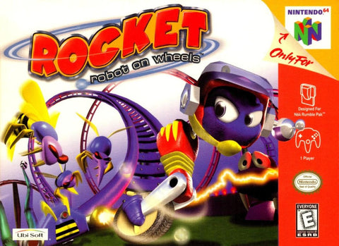 Rocket Robot on Wheels - N64