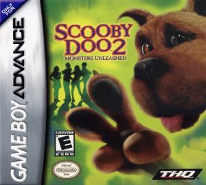 Scooby-Doo 2 Monsters Unleashed - Gameboy Advance