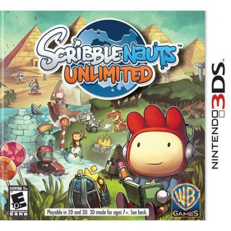 Scribblenauts Unlimited - Pre-Owned 3DS