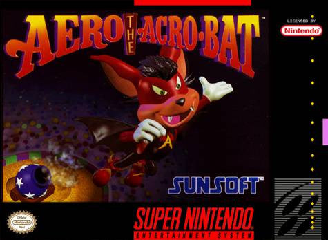 Aero the Acrobat - SNES