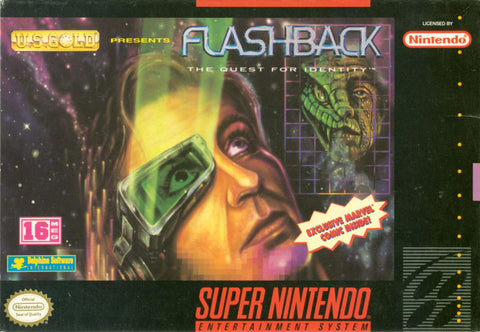 Flashback: Quest for Identity - SNES