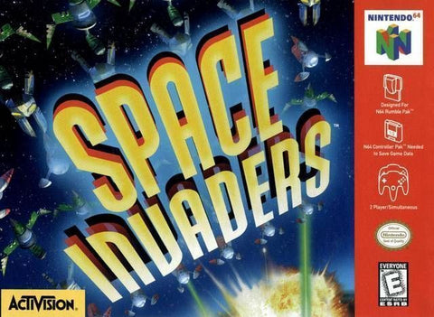 Space Invaders - N64