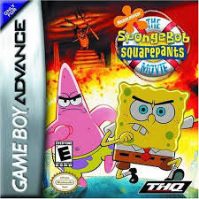 Spongebob Squarepants The Movie - Gameboy Advance