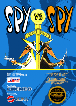 Spy vs Spy - NES