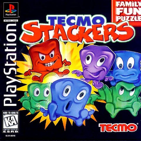 Tecmo Stackers - Playstation