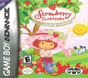 Strawberry Shortcake: Summertime Adventure - Gameboy Advance