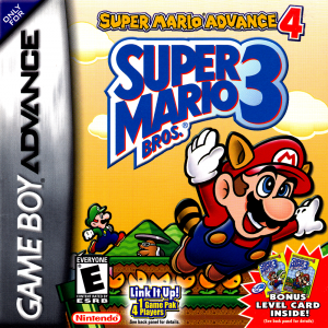 Super Mario Advance 4: Super Mario Bros. 3  - Gameboy Advance