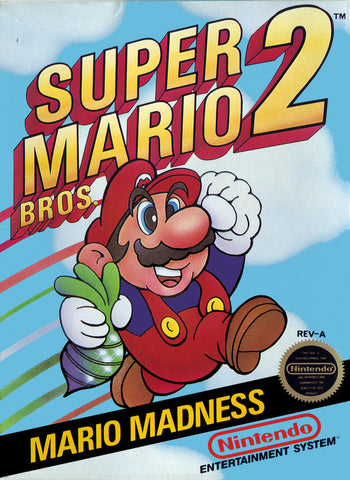 Super Mario Bros. 2 - NES