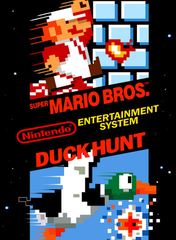 Super Mario Bros./Duck Hunt - NES
