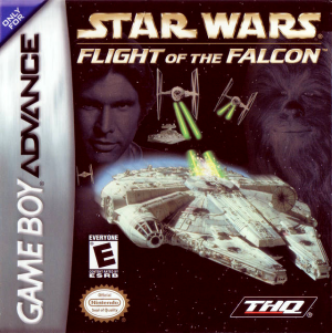 Star Wars: Flight of the Falcon - Gameboy Advance