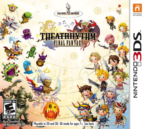 Final Fantasy Theatrhythm - Pre-Owned 3DS
