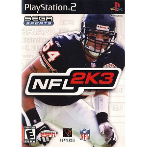 NFL 2K3 - Playstation 2