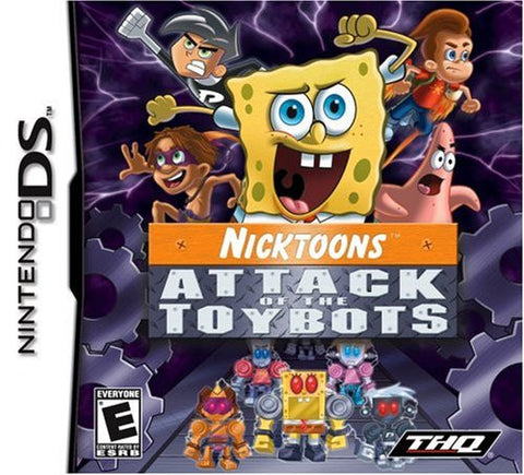 Nicktoons: Attack of the Toybots - DS