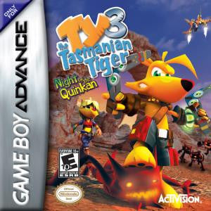 Ty The Tasmanian Tiger 3 Night of the Quinkan - Gameboy Advance