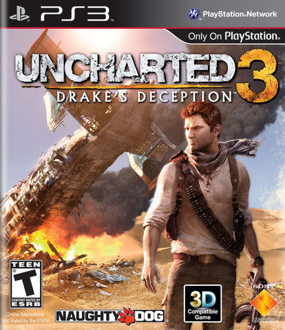 Uncharted 3: Drake's Deception - Pre-Owned PlayStation 3