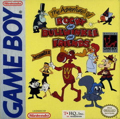 Adventures of Rocky and Bullwinkle and Friends - Gameboy
