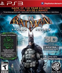 Batman Arkham Asylum: Game of the Year Edition - Pre-Owned Playstation 3