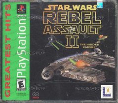 Star Wars: Rebel Assault 2 - Playstation