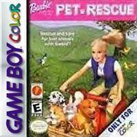 Barbie Pet Rescue - Gameboy Color