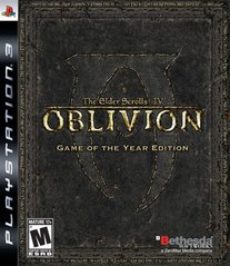 Elder Scrolls IV: Oblivion - Game of the Year Edition - Playstation 3
