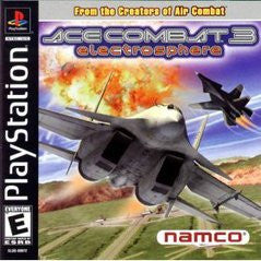 Ace Combat 3: Electrosphere - Playstation