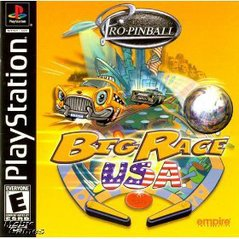 Pro Pinball: Big Race USA - Playstation
