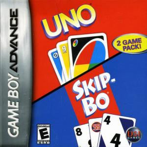 Uno - Skipbo - Gameboy Advance