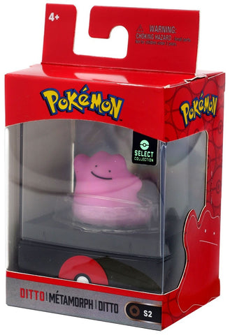 "Pokemon Select Collection 2"" Figure with Case - Ditto"
