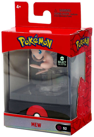 "Pokemon Select Collection 2"" Figure with Case - Mew"