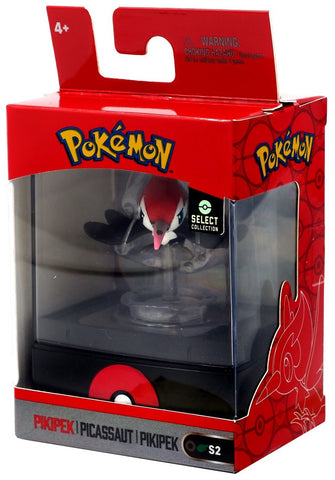 "Pokemon Select Collection 2"" Figure with Case - Pikipek"