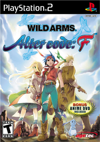 Wild ARMs Alter Code: F - Playstation 2